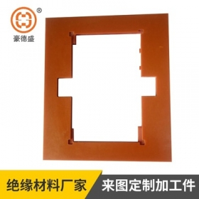 厂家生产电木板加工件 橘红色必威体育官方开户板材 可切割雕刻胶木板来图定制